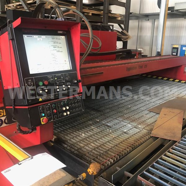 ESPRIT Viper 4000 CNC Plasma and Gas Profile Cutting Machine