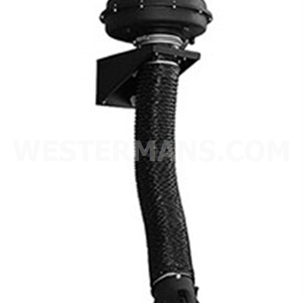 Extractability Telescopic Fume Extraction Arm