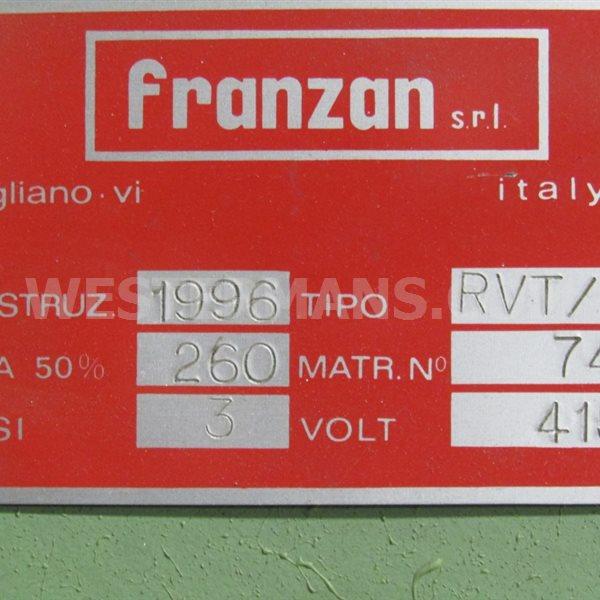 Franzan Resistance Seam Welder Rotary Electrode Welder