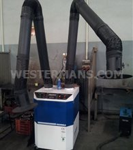New Freshweld M2 Series Mobile Mechanical Fume Extractor - Double Arm