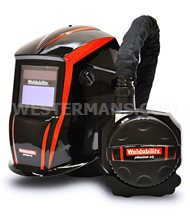 Phantom Air PAPR + ADF Air Purification Respirator Auto Darkening Helmet