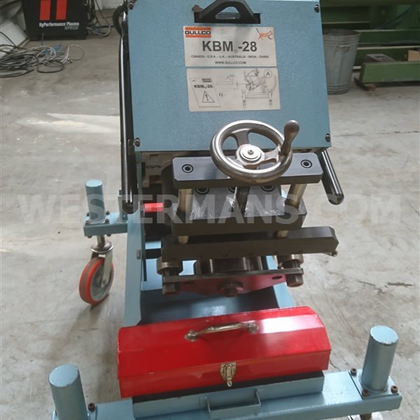 Gullco KBM 28 Bevelling Machine save £££ of used prices