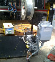ESAB A6/A2 Submerged Arc seam Welding Tractor twin head or single and LAF 1250 Power Source with PEH Controls