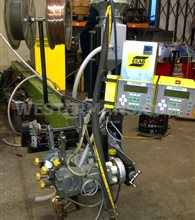 ESAB Submerged Arc Dual Welding Head with ESAB LAF and TAF AC and DC Welding Power Source