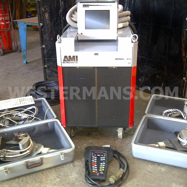 AMI 415 Orbital Welding Power Source and Weld Heads