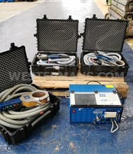 Orbitalum 165CB Orbital Welder package with Weld Heads