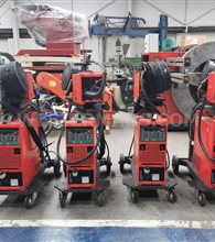 Fronius TransPuls Synergic 3200 MIG Welder water cooled