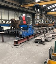 Messer statosec KPS with burny cnc unit gas and plasma