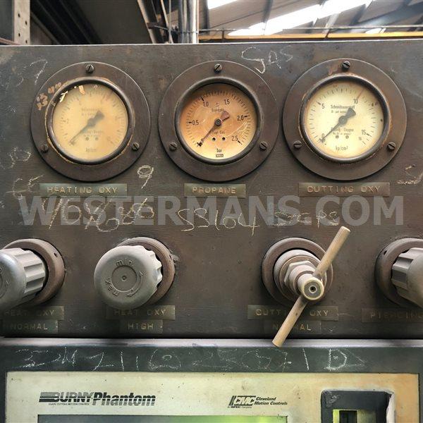 Messer statosec KPS with burny cnc unit gas and plasma