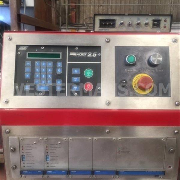 Esprit CNC Lightning 1500 Profile Plasma Cutter with Hypertherm Hydefinition 3070