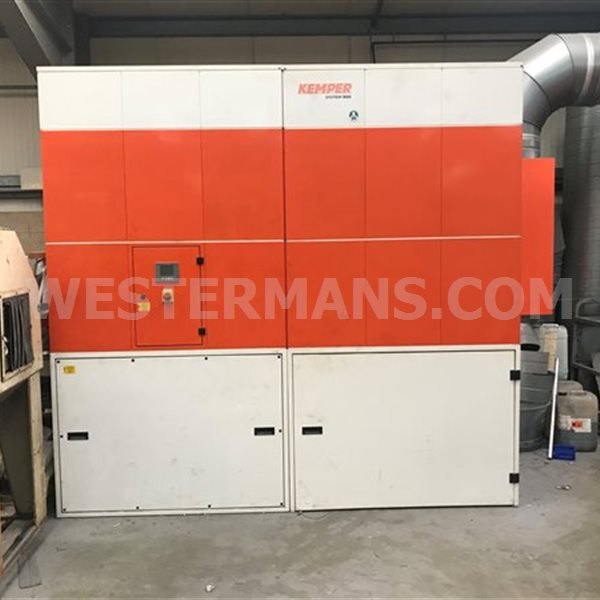 Kemper 9000 fume extraction system with  12 arms 19,000m3
