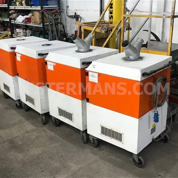 Kemper filtermaster Mobile Fume Extraction System. For tig, mig and mma welding fumes