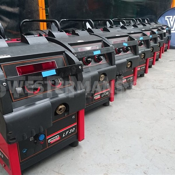 Lincoln Powertec 425S Seperate Mig Welder with LF30 Feed Unit or 24 feed unit