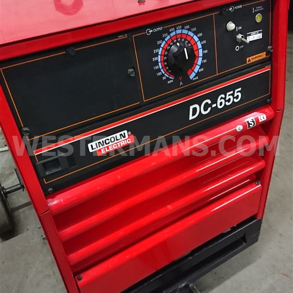 Lincoln DC 655 CC/CV Multi Process Welding Power Supply