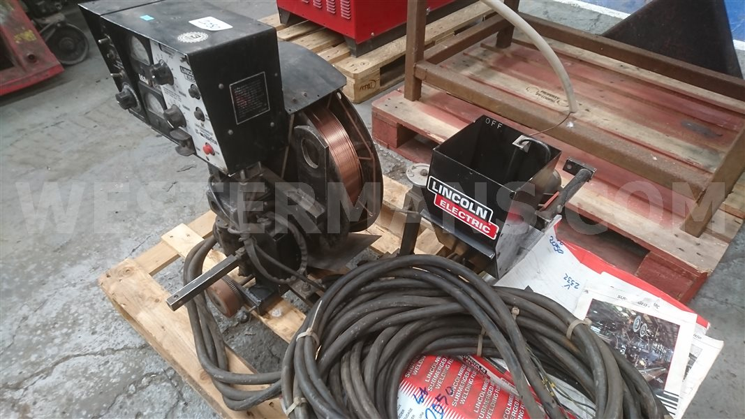 Lincoln Lt7 Sub Arc Tractor With Lincoln 655 Dc Power Source