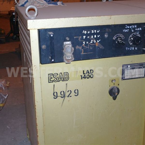 ESAB LAD 1400 amp DC Heavy Duty Welding Power Source