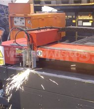 Esprit Lightning 1500 CNC Plasma with Hypertherm max 100