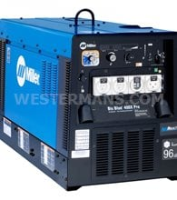 Miller Big Blue 400X Pro with Arc Reach Diesel Welder