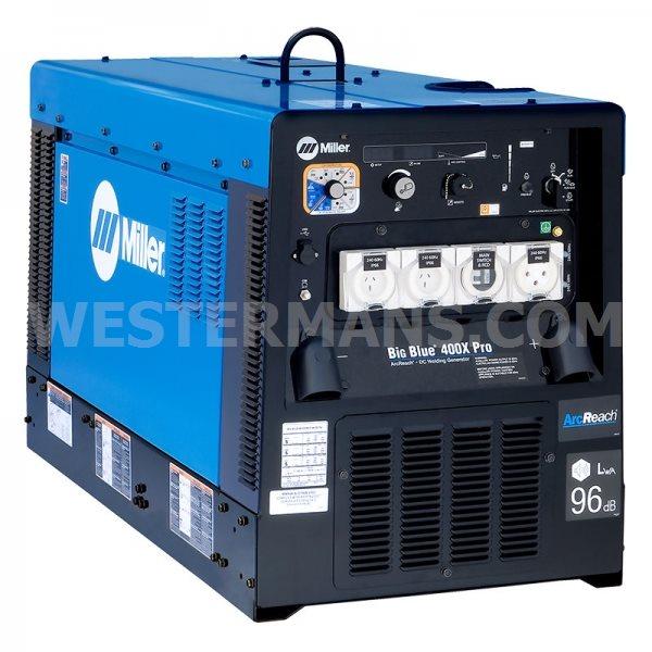 Miller Big Blue 400X Pro with Arc Reach Diesel Welder