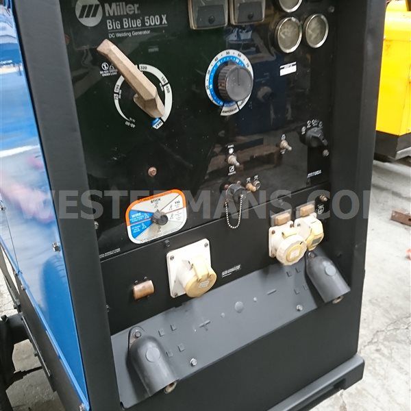Miller Big Blue 500 Diesel Engine Site Welder Generator