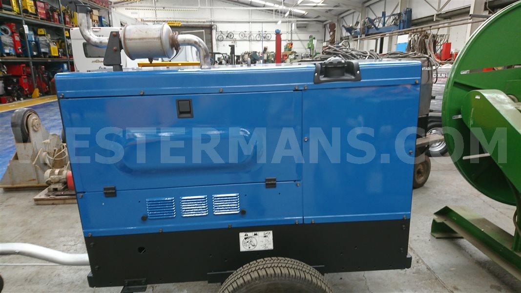 Miller Big Blue 500 Diesel Engine Site Welder
