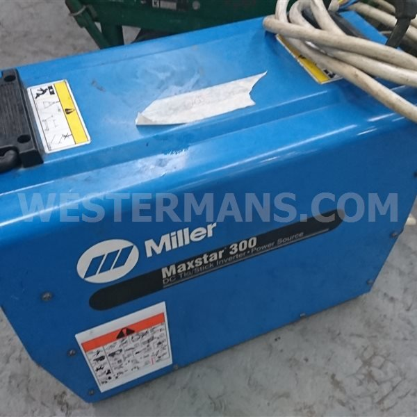 Miller Maxstar 300DX DC TIG and MMA Welding Machine