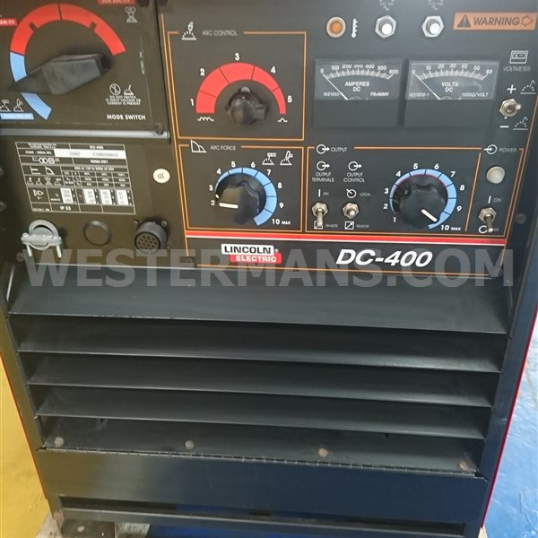 Lincoln Idealarc DC 400 amp New and used Multi Process Welding Power Source with Feed Unit