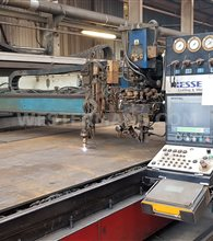 Messer OmniMat P6000 Price reduced CNC Plasma & Oxy Fuel Profile and plasma with Cutter DKS oxy-fuel triple
