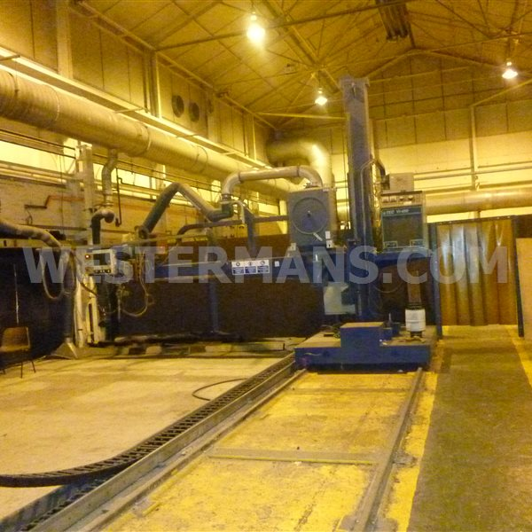 Bode 3 TRMB Travelling Column and Boom Welder