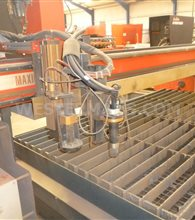 KOIKE Maxigraph CNC Plasma and Gas Profile Cutting Machine
