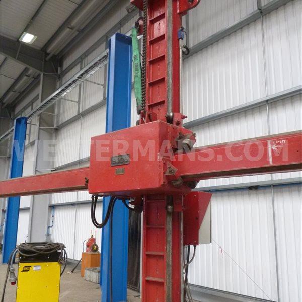 Bode 2/RMB/1 3m x 3m Column & Boom + ESAB Sub Arc Welder