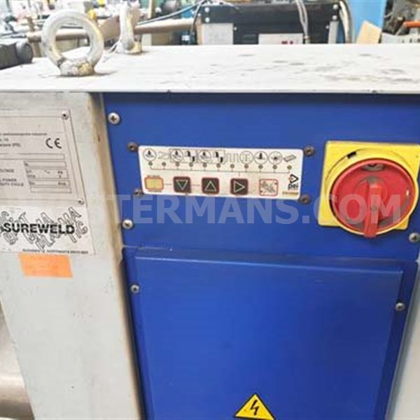 PEI projection spot welder Capacity 50 kva water cooled
