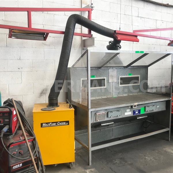 Plymovent  MultiFume caddie Extraction unit