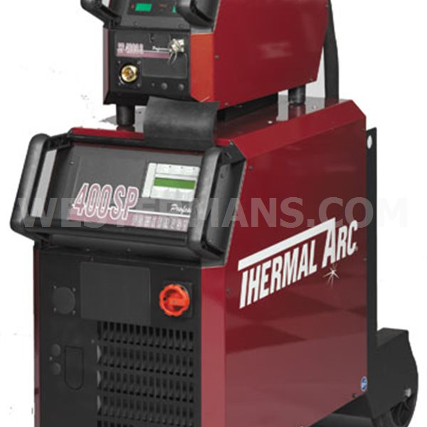 Thermal Arc PowerMaster Plus 400SP, 400A Digital Control Synergic MIG Separate System