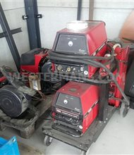 Lincoln Powerwave 405 MIG welder + Linc Feed 40