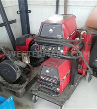Lincoln Powerwave 405 MIG welder + Linc Feed 40