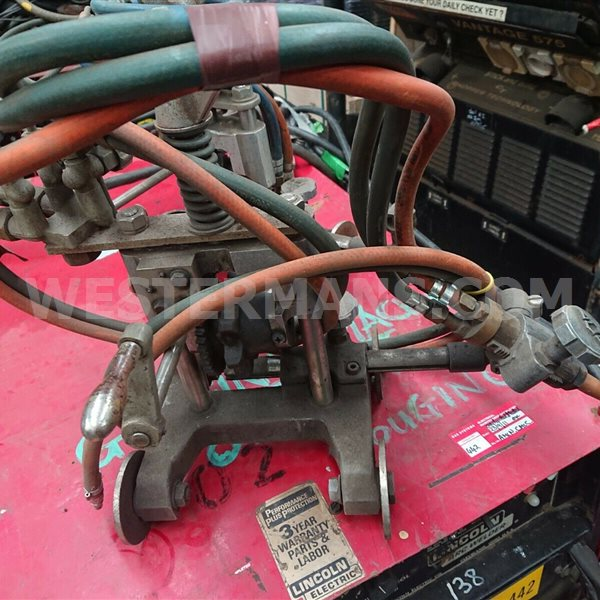 Koike Picle Pipe Cutter Manual and Straight Line Burners