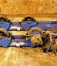 SAF 3000kg Welding Rotators,set of 1 power and 1 idler