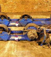 SAF 3000kg Welding Rotators,set of 1 power and 1 idler