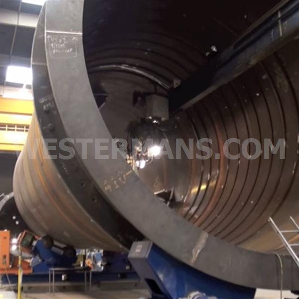 Bode 3/RC 8.3m x 12m Welding Column and Boom Crane
