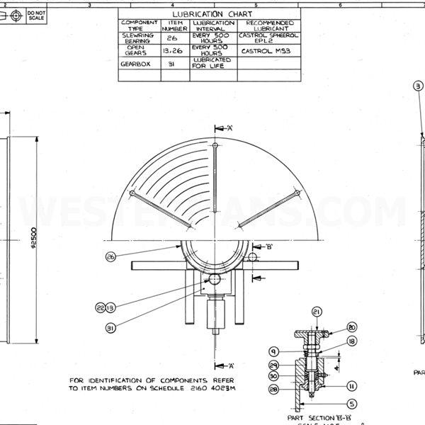 Bode TT60 3000kg Flat Welding Positioner/Turntable