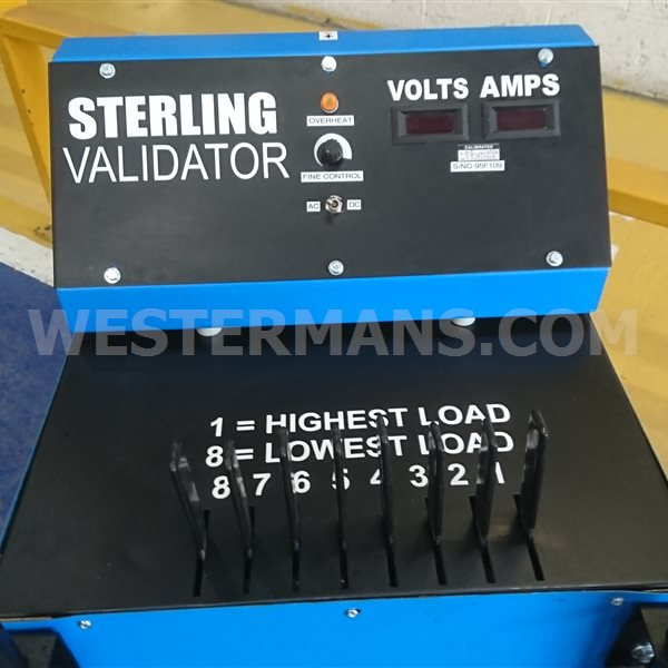 Sterling Calibrator load bank 600 amps