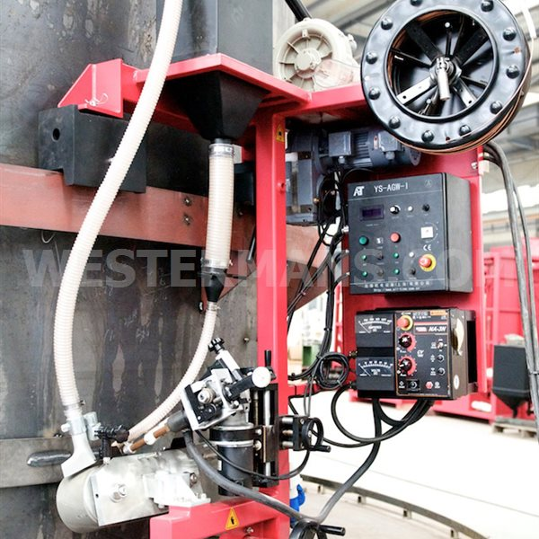 Automatic Girth welder AGW-I/P for tank fabrication - As New condition