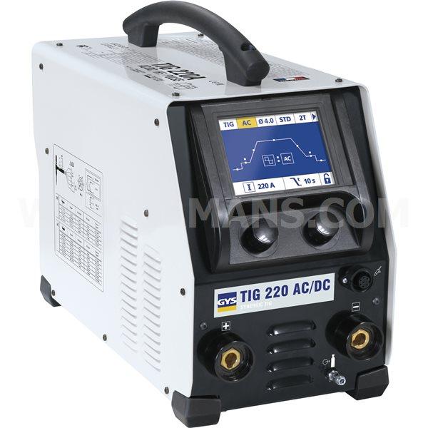 GYS TIG 220 AC/DC-HF FV TIG Welding Machine